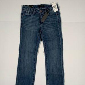 Buffalo Slim Straight Jeans Cotton Stretch Sz 25